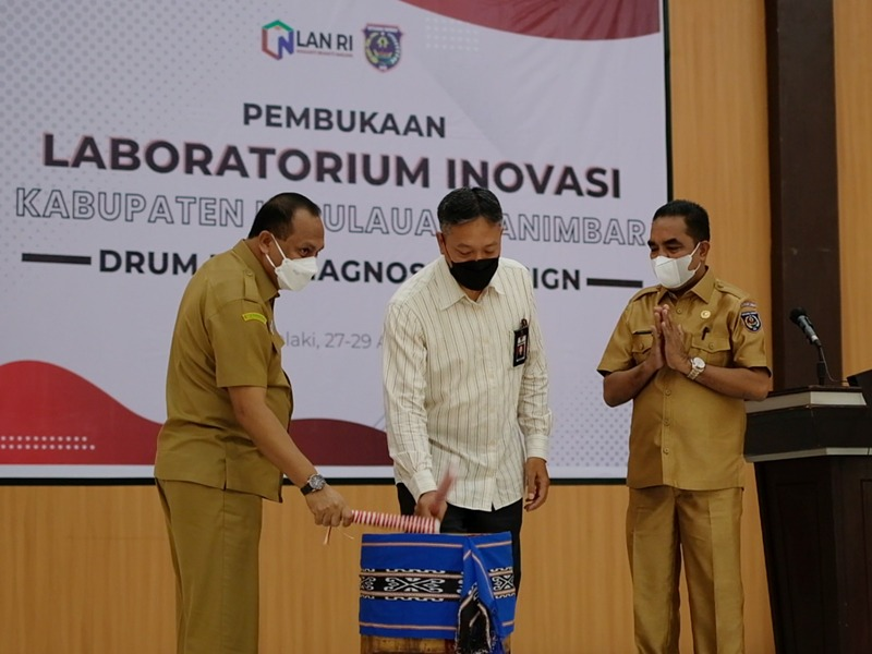 Bangun Daerah Terluar Indonesia melalui Inovasi: LAN Buka Kegiatan Laboratorium inovasi Kabupaten Kepulauan Tanimbar