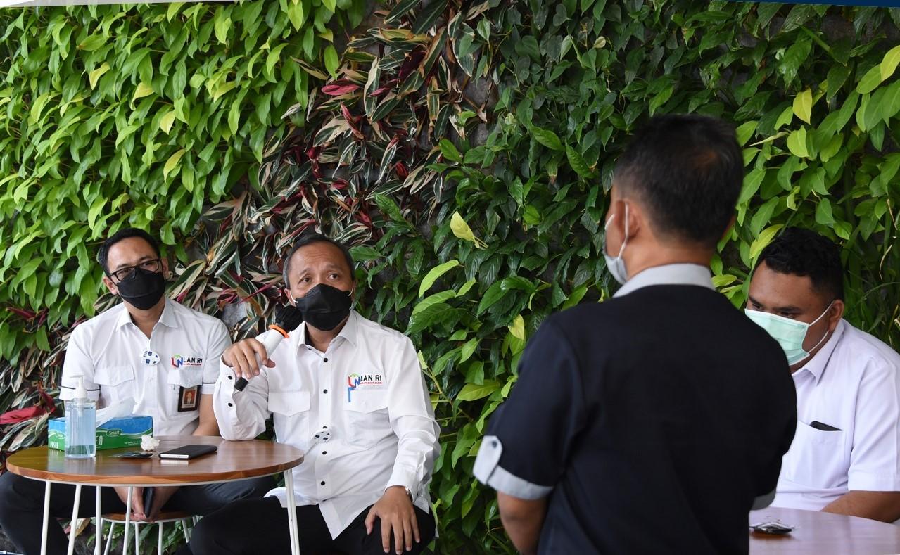 Jelang Idul Fitri, LAN Selenggarakan Ramah Tamah dengan Pegawai PPNPN