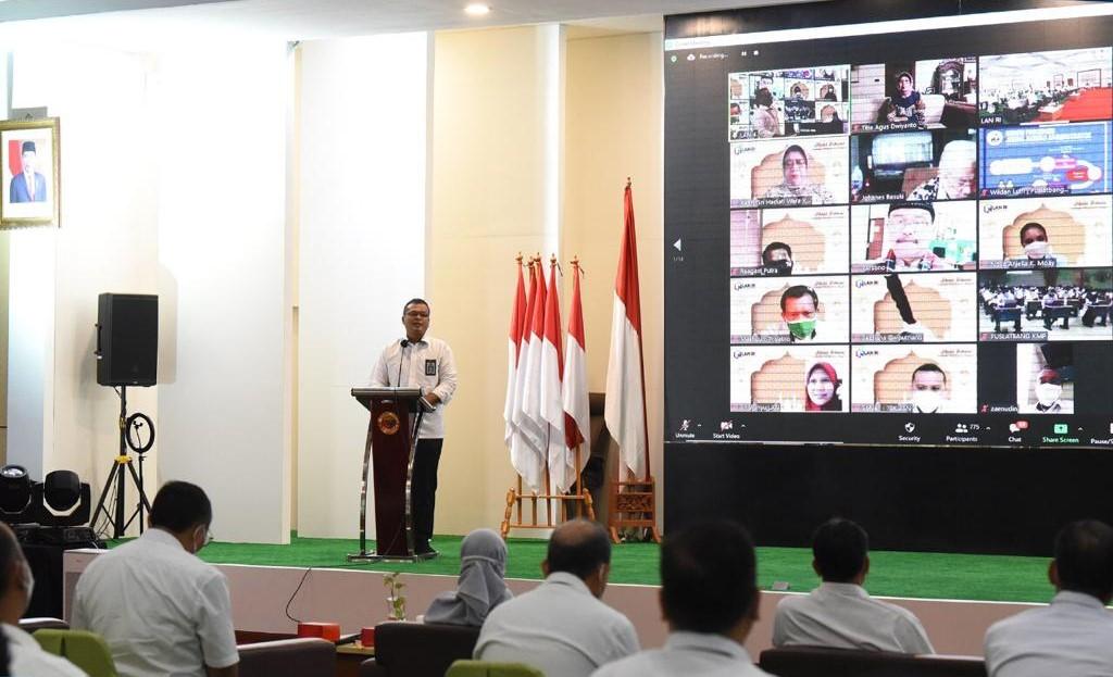Pasca Hari Raya Idul Fitri, LAN Gelar Halalbihalal secara Daring dan Luring