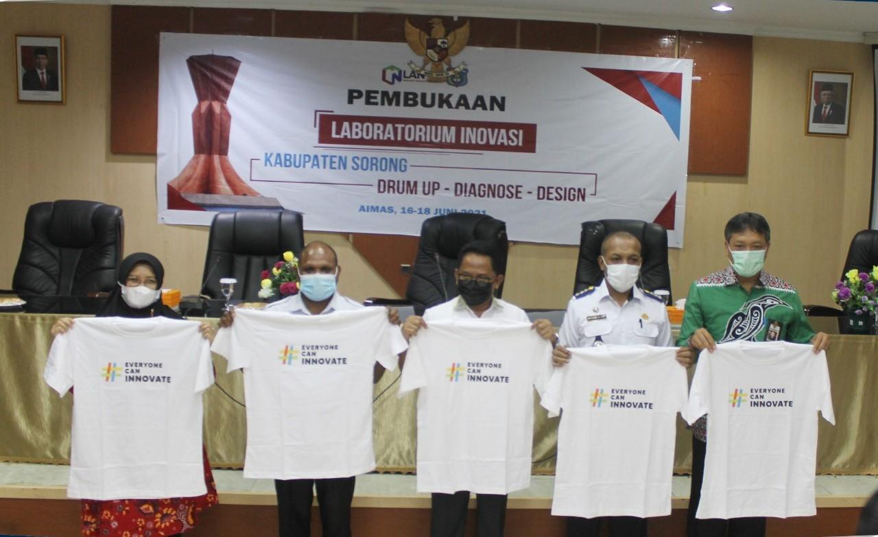 Dengan Laboratorium Inovasi Kabupaten Sorong, LAN Akselerasi Penerapan Good Governance di Daerah 3T