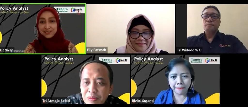Perkuat Kapasitas Advokasi Analis Kebijakan, LAN Kembali Gelar VPL Seri IX